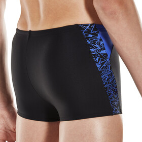 speedo Boom Splice Watershorts Jungs black/amparo blue